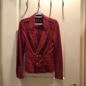 Beautiful burgundy blazer